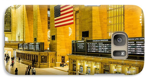 Galaxy Case featuring the photograph Grand Central Pride by M G Whittingham