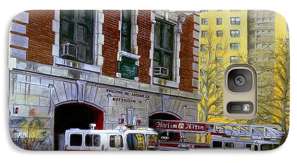 Harlem Hilton Galaxy Case by Paul Walsh