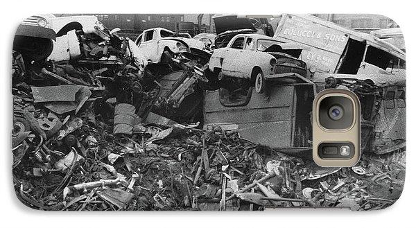 Harlem River Junkyard, 1967 Galaxy S7 Case