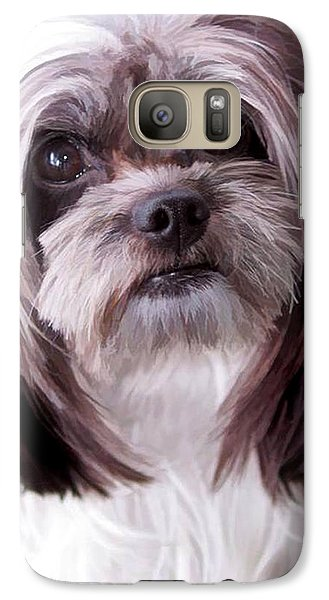 Galaxy Case featuring the photograph Harley by Cherie Duran