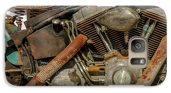Galaxy Case featuring the photograph Harley Davidson - An American Icon by Bill Gallagher