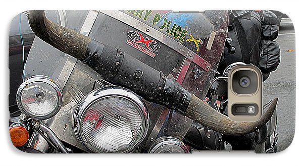 Galaxy Case featuring the photograph Harley One Bull O by John King