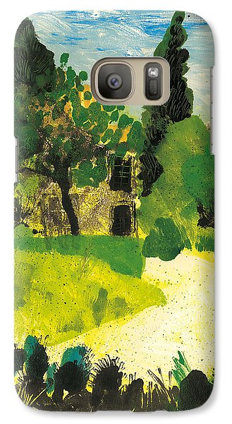 Galaxy Case featuring the painting Harmas Henri Fabre Provence Garden by Martin Stankewitz