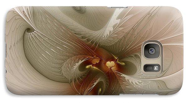Galaxy Case featuring the digital art Harmonius Coexistence by Karin Kuhlmann