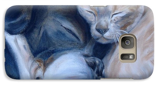 Galaxy Case featuring the painting Harmony by Donna Tuten