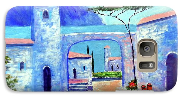 Galaxy Case featuring the painting Harmony Of Como by Larry Cirigliano