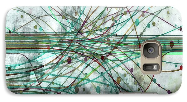 Galaxy Case featuring the digital art Harnessing Energy 3 by Angelina Vick