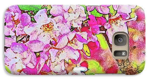 Galaxy Case featuring the photograph Harp Blossoms by Lenore Senior