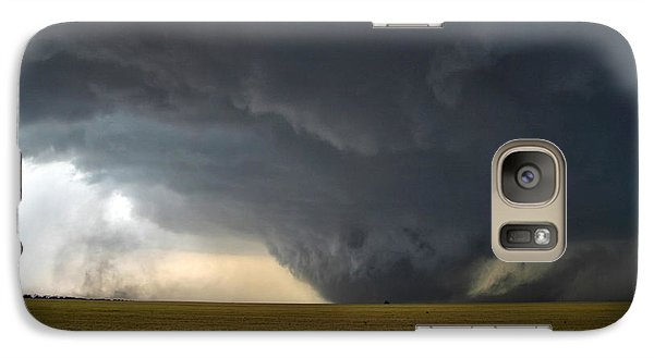 Galaxy Case featuring the photograph Harper Kansas Tornado 2  by James Menzies
