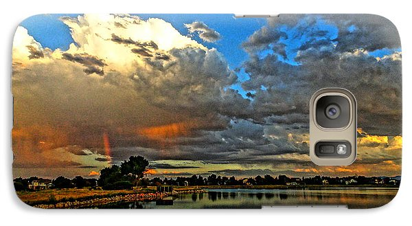 Galaxy Case featuring the photograph Harper Lake by Eric Dee