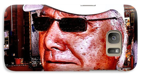 Galaxy Case featuring the photograph Harried Harry by Sadie Reneau