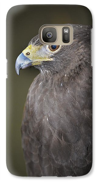 Galaxy Case featuring the photograph Harris Hawk by Tyson and Kathy Smith