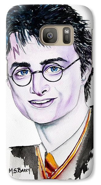 Galaxy Case featuring the painting Harry Potter by Maria Barry