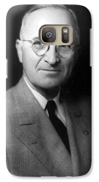 Galaxy Case featuring the photograph Harry S Truman - President Of The United States Of America by International  Images