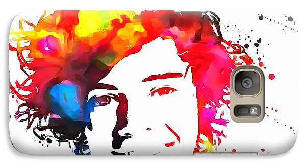 Harry Styles Paint Splatter Galaxy S7 Case
