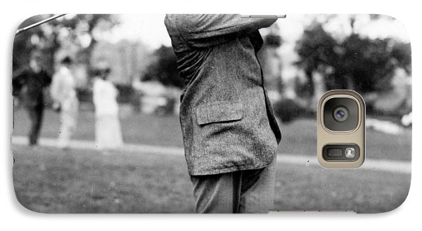 Harry Vardon - Golfer Galaxy S7 Case by International  Images