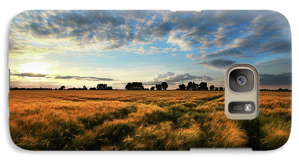 Galaxy Case featuring the photograph Harvest by Franziskus Pfleghart