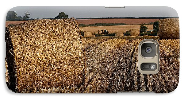 Galaxy Case featuring the photograph Harvest by Gary Bridger