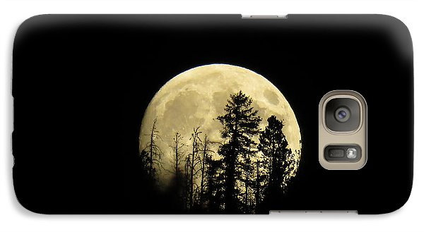 Harvest Moon Galaxy S7 Case by Karen Shackles
