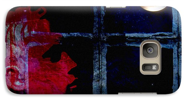 Galaxy Case featuring the photograph Harvest Moon by LemonArt Photography