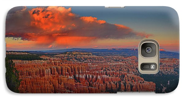 Harvest Moon Over Bryce National Park Galaxy S7 Case