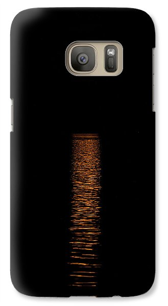 Galaxy Case featuring the photograph Harvest Moonrise by Paul Freidlund