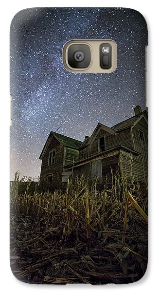 Galaxy Case featuring the photograph Harvested  by Aaron J Groen