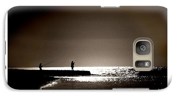 Galaxy Case featuring the photograph Harvester Of The Sea by Martina  Rathgens