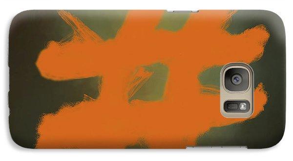 Galaxy Case featuring the digital art Hashtag by Jim  Hatch