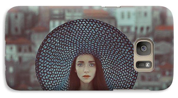 Portraits Galaxy S7 Case - Hat And Houses by Anka Zhuravleva