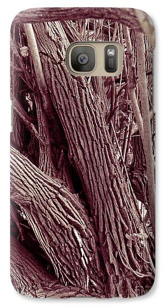 Galaxy Case featuring the photograph Hau Trees by Mukta Gupta
