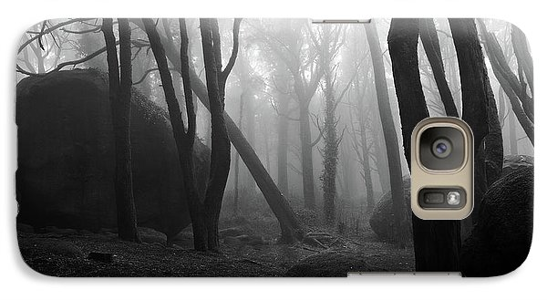 Galaxy Case featuring the photograph Haunted Woods by Jorge Maia