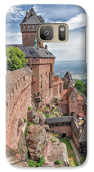 Galaxy Case featuring the photograph Haut-koenigsbourg by Alan Toepfer