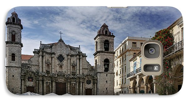 Havana Cathedral. Cuba Galaxy S7 Case