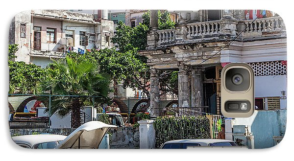 Galaxy Case featuring the photograph Havana Cuba by Charles Harden