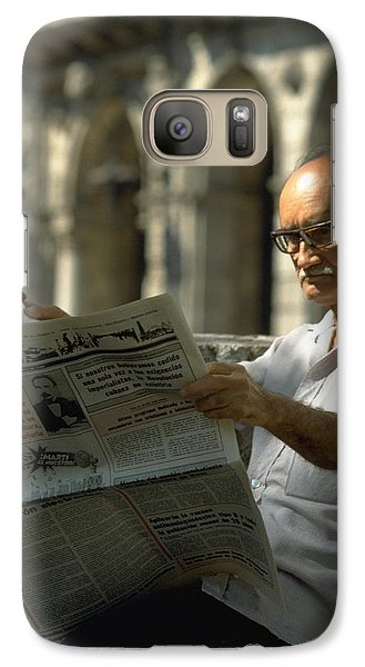 Galaxy Case featuring the photograph Havana by Travel Pics