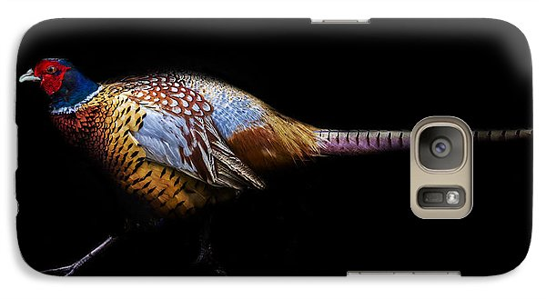 Have A Pheasant Day.. Galaxy Case by Martin Newman