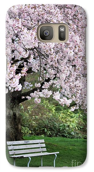 Galaxy Case featuring the photograph Have A Seat by Victor K