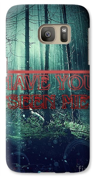 Galaxy Case featuring the digital art Have You Seen Me by Mo T