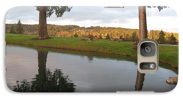 Galaxy Case featuring the photograph Haven Of Rest by Barbara Tristan