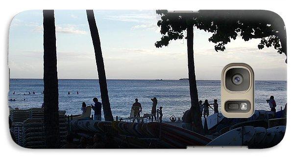 Galaxy S7 Case - Hawaiian Afternoon by Daniel Sauceda