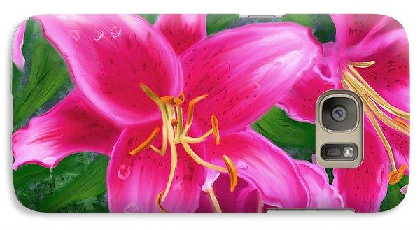 Hawaiian Flowers Galaxy S7 Case