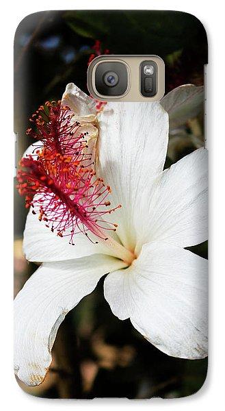 Galaxy Case featuring the photograph Hawaiian Hibiscus  by Joann Copeland-Paul