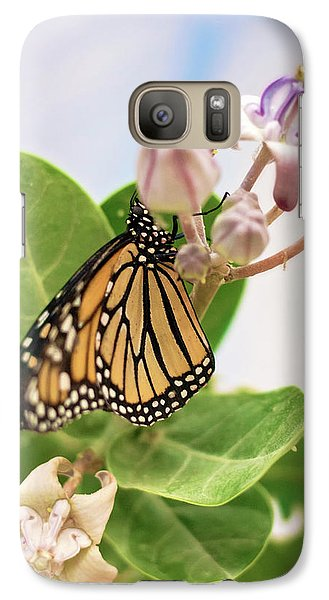 Galaxy Case featuring the photograph Hawaiian Monarch by Heather Applegate