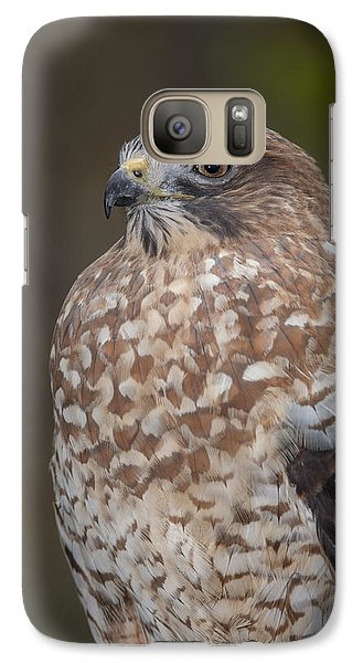 Galaxy Case featuring the photograph Hawk by Tyson and Kathy Smith
