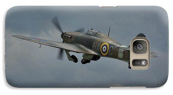 Galaxy Case featuring the photograph Hawker Hurricane Mk Xii  by Tim Beach