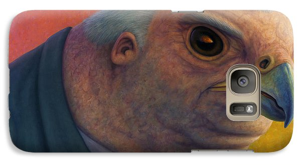 Hawkish Galaxy S7 Case by James W Johnson