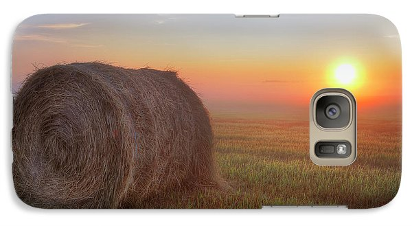 Galaxy Case featuring the photograph Hayrise by Dan Jurak