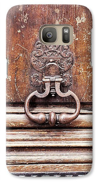 Galaxy Case featuring the photograph Hazel - Paris Door Photography by Melanie Alexandra Price