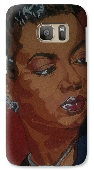 Galaxy Case featuring the painting Hazel Scott by Rachel Natalie Rawlins